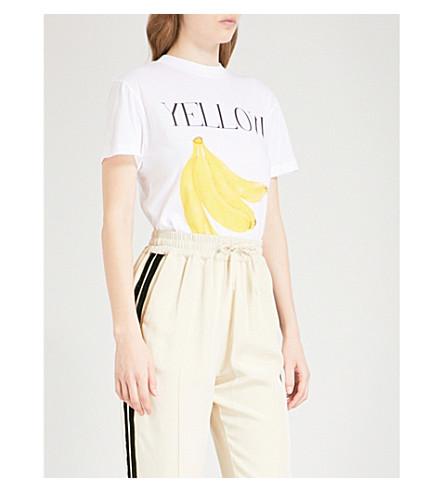 GANNI Harway 棉衫 t恤衫 (亮 + 白