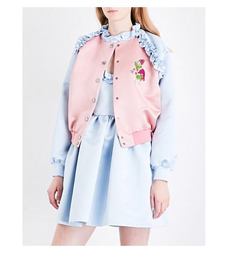 VIVETTA Sante Fe satin jacket (Pink+blue