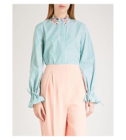 VIVETTA Zaniah cotton shirt (Green