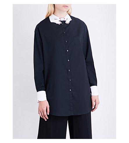 VIVETTA Albertown cotton shirt (Black