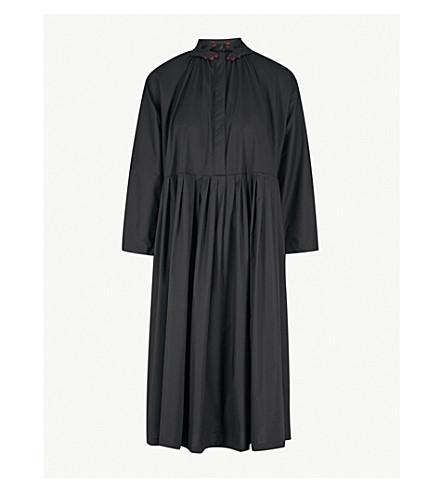VIVETTA Pasife 弹力棉连衣裙 (黑色