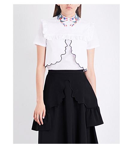 VIVETTA Daman stretch-cotton collar (Multi