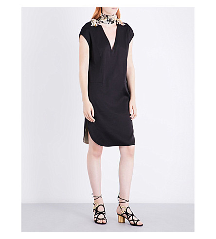 BY MALENE BIRGER Kalena satin dress (Black