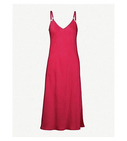 A.L.C Annex satin dress (Berry