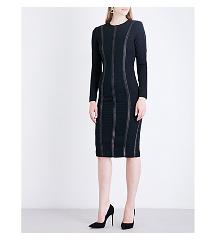 MISHA COLLECTION Octavia jersey dress (Black