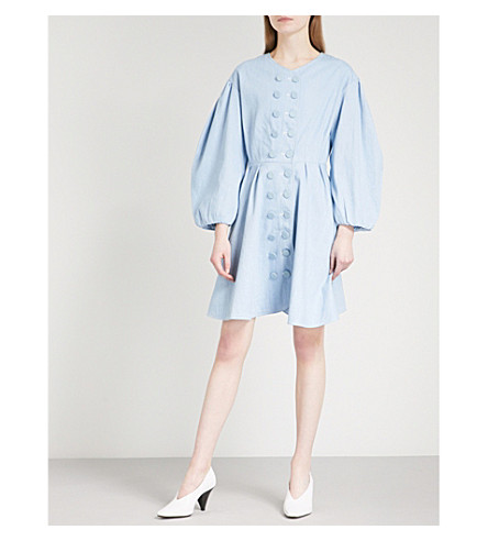 PAPER LONDON Anita denim dress (Light+wash