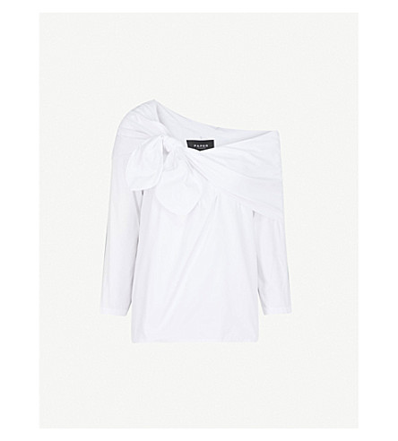 PAPER LONDON Rubin cotton top (White