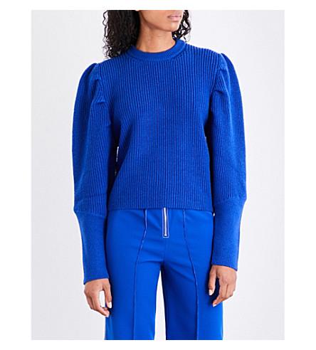 PAPER LONDON Rocket wool jumper (Blue