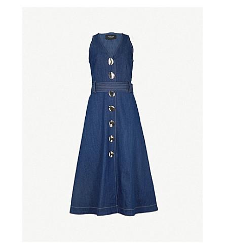 826a465637 PAPER LONDON - Wallace stretch-denim midi dress