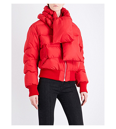 MAGDA BUTRYM Starling shell puffer jacket (Red