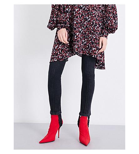 MAGDA BUTRYM Benson skinny mid-rise jeans (Grey