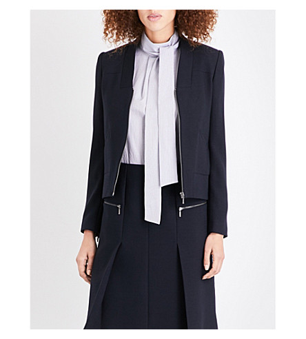 CEFINN Boxy zip jacket (Navy