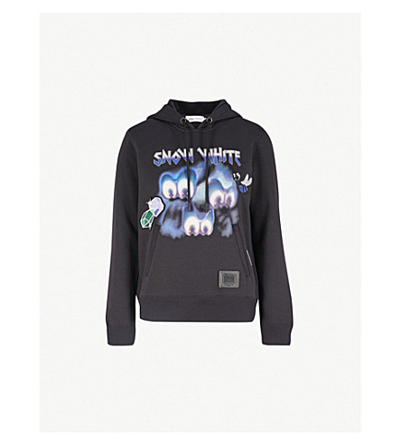COACH Dark Disney Sleepy cotton-jersey hoody (Dark+shadow