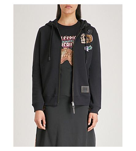 COACH Dark Disney Happy cotton-jersey hoody (Dark+shadow