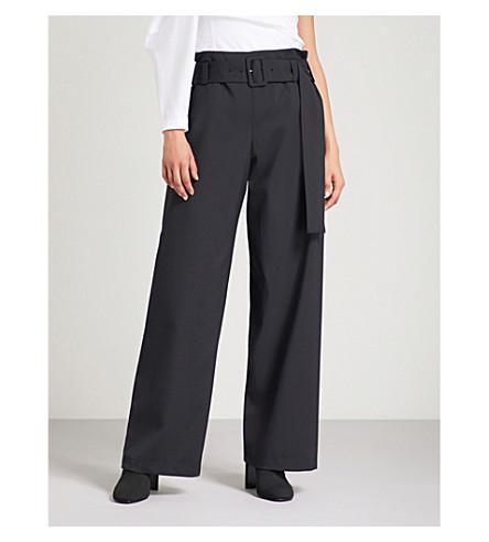REJINA PYO Ava wide wool-crepe trousers (Wool+suiting+black