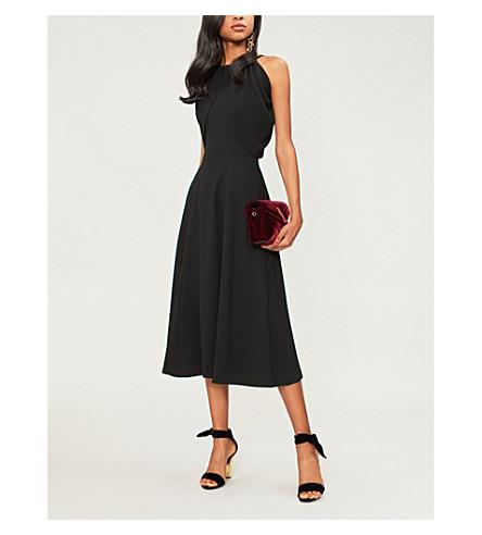 REJINA PYO Sasha crepe midi dress (Crepe+black