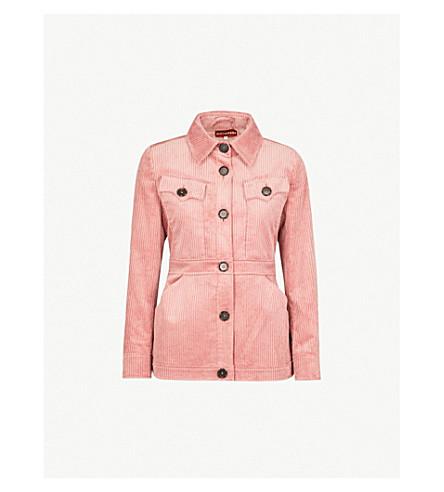 ALEXACHUNG Pocket-detail corduroy jacket (Dusky+rose