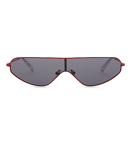 KENDALL & KYLIE Slater sunglasses (Matte+red+metal