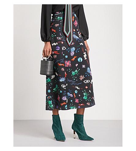 RIXO 塔利亚丝密裙 (空间 + 年龄 + 花卉