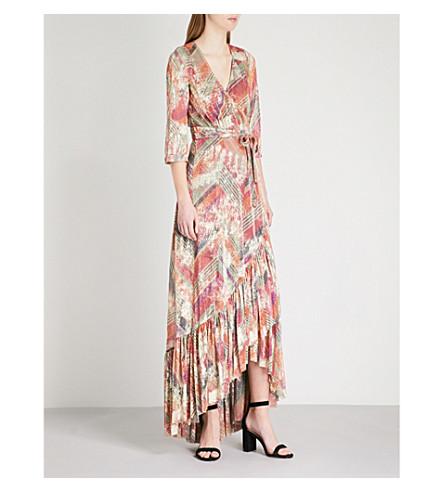 BA&SH Pipa metallic woven maxi dress (Multicolor
