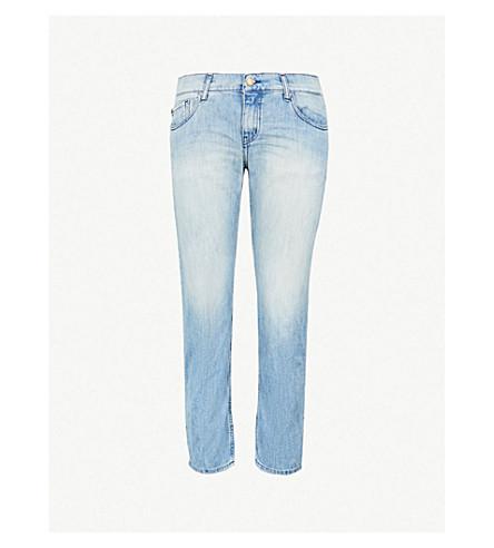 BA&SH Romy mid-rise boyfriend-fit jeans (Lightused
