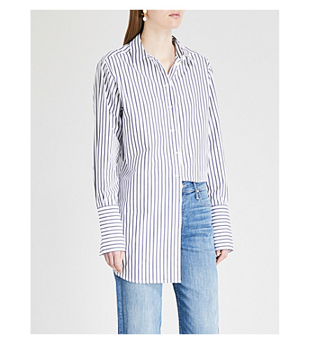 KITRI Herrera striped cotton shirt (Striped