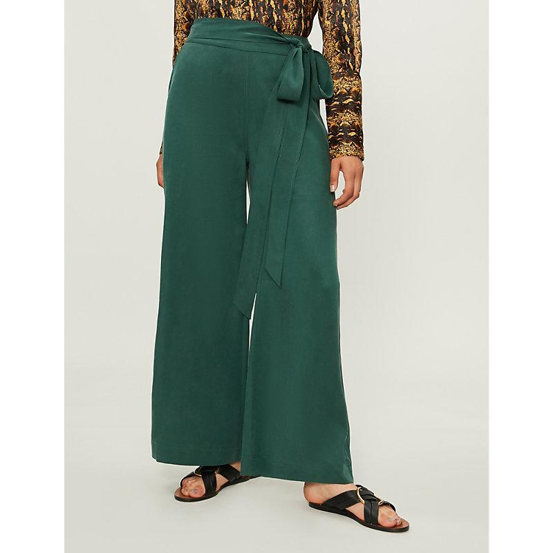 KITRI Daphne wide-leg crepe pants