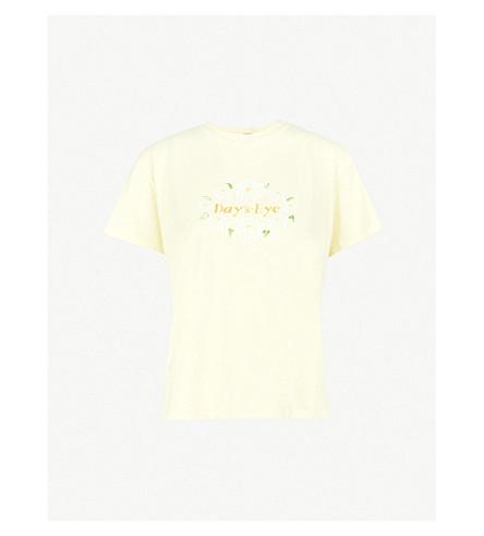 KITRI 天眼棉衫 t恤衫 (柠檬