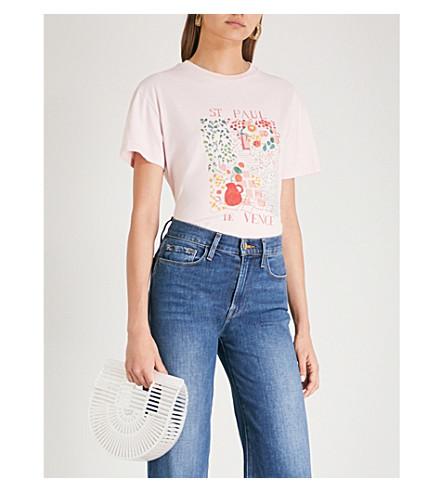 KITRI St Paul de Vence cotton-jersey T-shirt