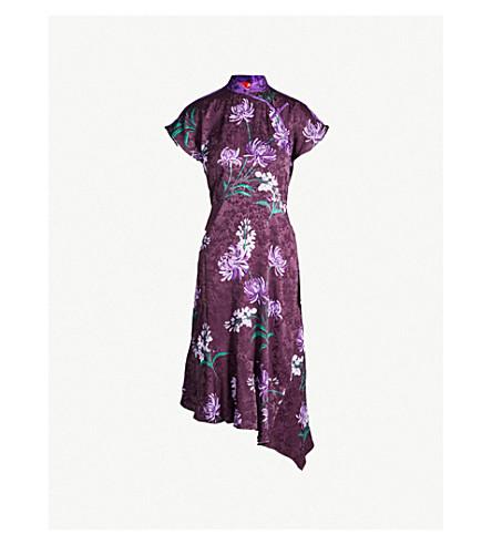 KITRI Valerie crepe dress (Purple