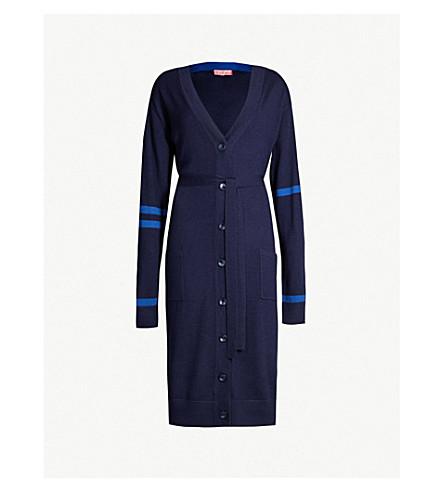 KITRI Alberta wool cardigan (Navy blue