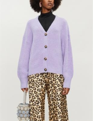 Corsica wool-blend cardigan