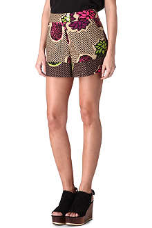 MOSCHINO CHEAP AND CHIC Pineapple-printed shorts