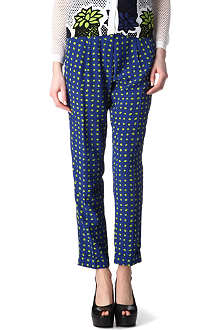 MOSCHINO CHEAP AND CHIC Polka-dot trousers