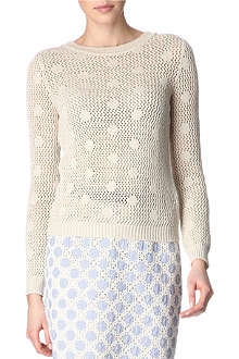 MOSCHINO CHEAP AND CHIC Sparkle jumper