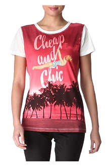 MOSCHINO CHEAP AND CHIC Tropical t-shirt