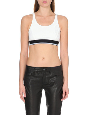 DKNY X CARA Cropped sports top