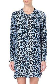 EQUIPMENT Owen leopard-print silk dress