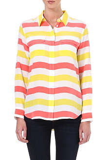 EQUIPMENT Signature striped shirt