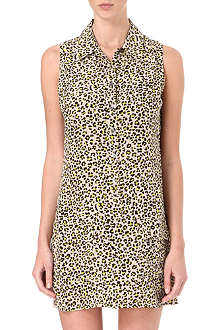 EQUIPMENT Lucida leopard-print washed-silk dress