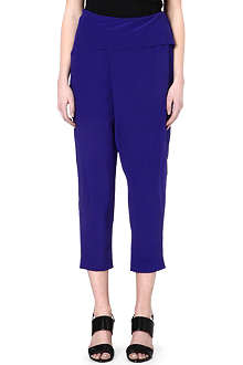M MISSONI Purple harem trousers