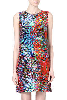 M MISSONI Batic printed silk dress