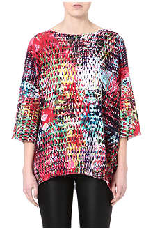 M MISSONI Digital Batik-print top