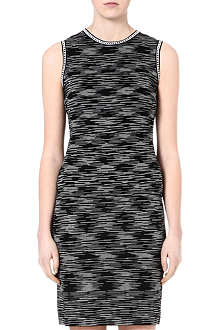 M MISSONI Space dye cut-out dress