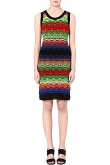 M MISSONI Ripple crochet dress