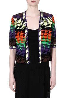 M MISSONI Patterned jacquard cardigan