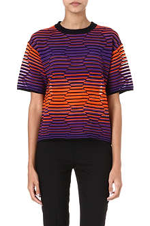 M MISSONI Hexagon stretch-knit top