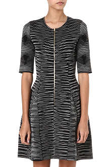 M MISSONI Neoprene zip-detail dress