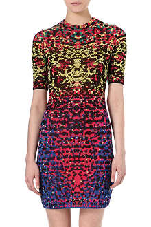 M MISSONI Jacquard lizard-print bodycon dress