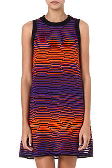 M MISSONI Hexagon swing dress